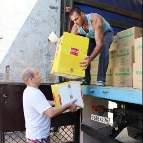 В Таганрог поступила первая партия гуманитарной помощи Красного креста