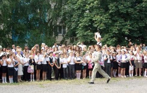 последний звонок в школах Таганрога