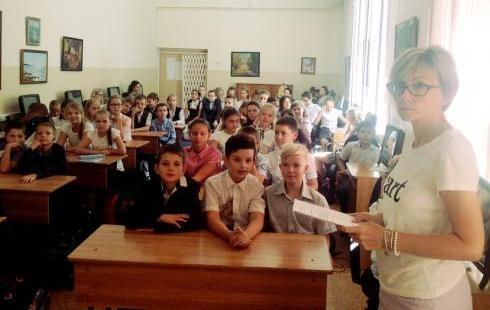 ВШколе №1788 прошел День памяти жертв Беслана