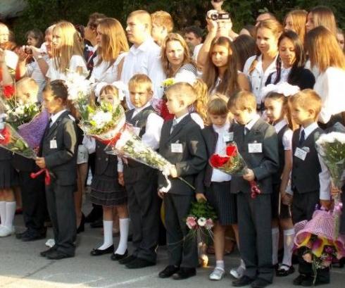 1 сентября в Таганроге прозвенел первый звонок для 2 455 первоклассников