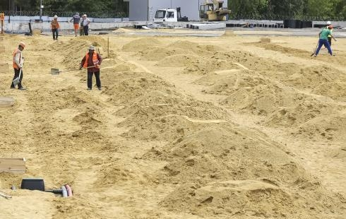 Наобновление приморского парка вТаганроге выделили 61 млн руб.