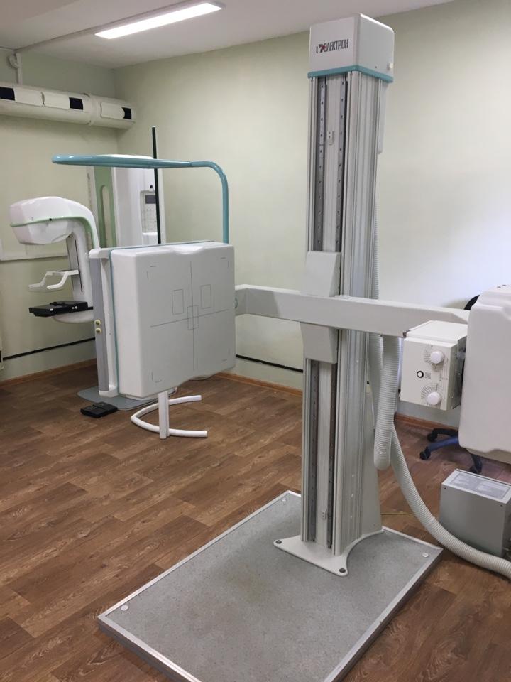 В городской поликлинике №1 начал работу цифровой флюорографический аппарат